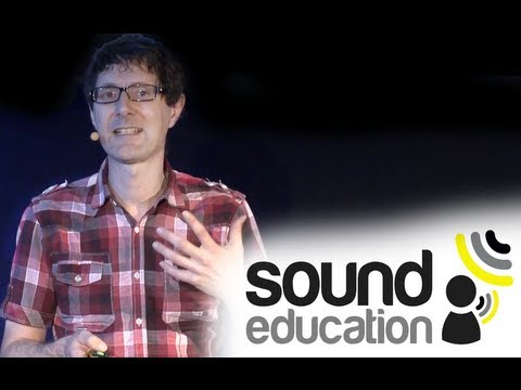 Prof. Trevor Cox, Professor of Acoustic Engineering, Sound Education London 2012