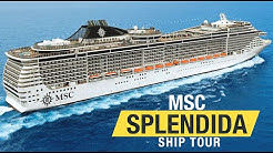 MSC Splendida Ship Tour (2020)