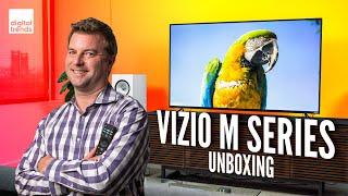 Vizio M-Series Quantum 4K HDR TV (Q7) Unboxing and Setup