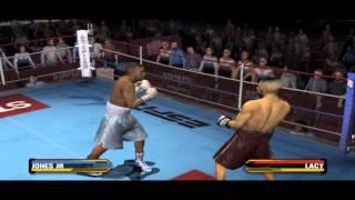 Roy Jones Jr Vs Jeff Lacy - Fight Night Round 3 Gameplay PC