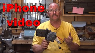 Cell phone video with rode micro microphone and iPhone 7 plus test
