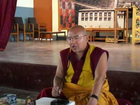 13/2/17 Teaching on Tantra at Tashiling,Pokhara by GesheLobsangDawa la-Tib.Language-Part3