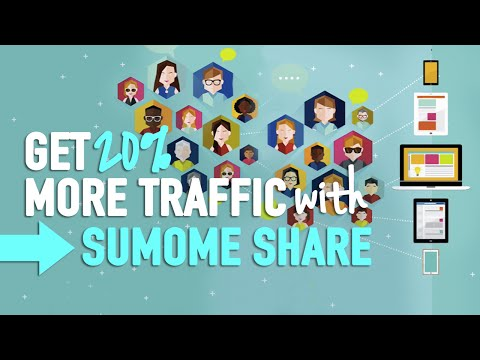 Get 20% More Traffic - SumoMe Share - 동영상