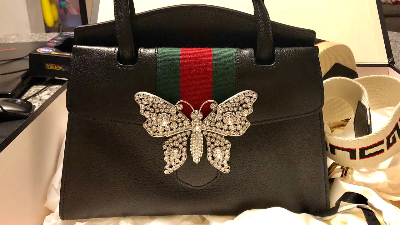 c5e42adc0 Gucci Bag luxe chic for party New collection 2018 - YouTube