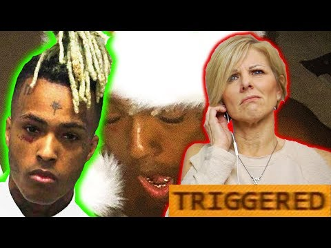 Mom REACTS to XXXTENTACION  A GHETTO CHRISTMAS CAROL EP! TRIGGERED