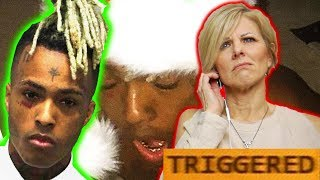 Mom REACTS to XXXTENTACION - A GHETTO CHRISTMAS CAROL EP! (TRIGGERED)