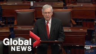 """Mitch McConnell: Democrats have an """"impeachment addiction"""""""