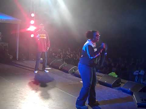 "Snoop Dogg & Tha Lady of Rage ""Clap Yo Hands"" Freestyle in Helsinki, Finland on 8/27/2009"