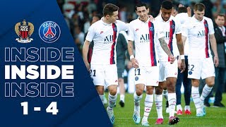 VIDEO: INSIDE -  NICE vs PARIS SAINT-GERMAIN