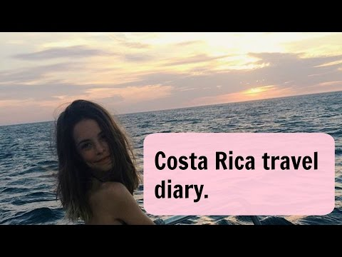 costa rica travel diary.