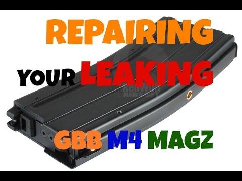 How to Repair Leaking WA System GBBR M4 Magazine