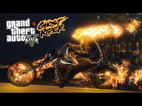 GTA 5 Mods  ULTIMATE GHOST RIDER MOD!! GTA 5 Ghost Rider Mod Gameplay! GTA 5 Mods Gameplay