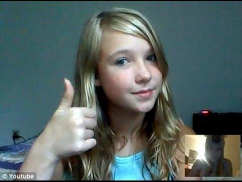 Teen webcam selfies
