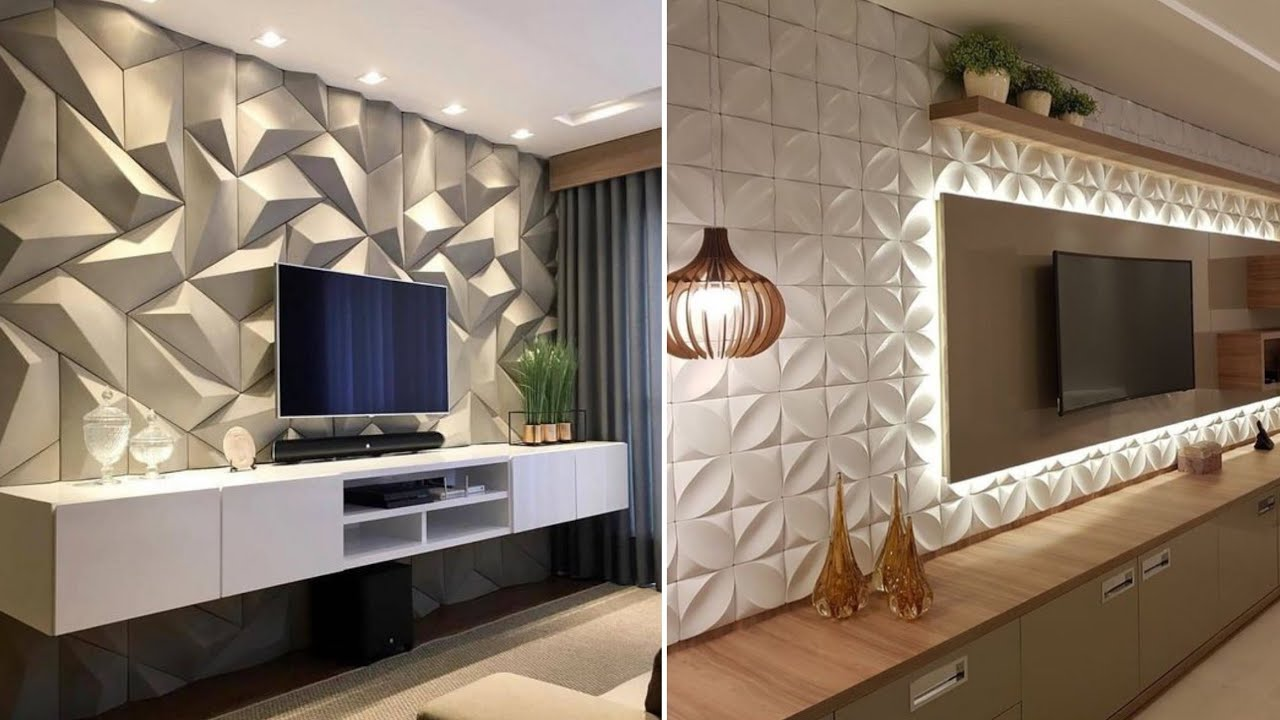 100 3d Wall Panels Home Interior Wall Decorating Ideas 2020 Youtube