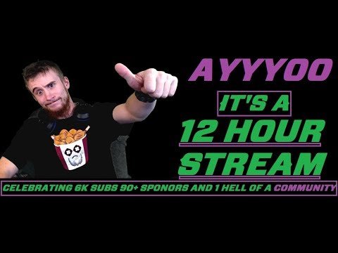 12 Hour Stream  Of Pure Chicken Adrenaline + Supreme Chaos With A DASH of Some Salty Disappointment