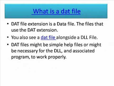Dat File Converter How To Open Dat File