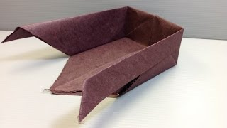 How To Make An Origami Winnow For Table Centerpieces