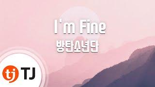 [TJ노래방] I'm Fine - 방탄소년단(BTS) / TJ Karaoke