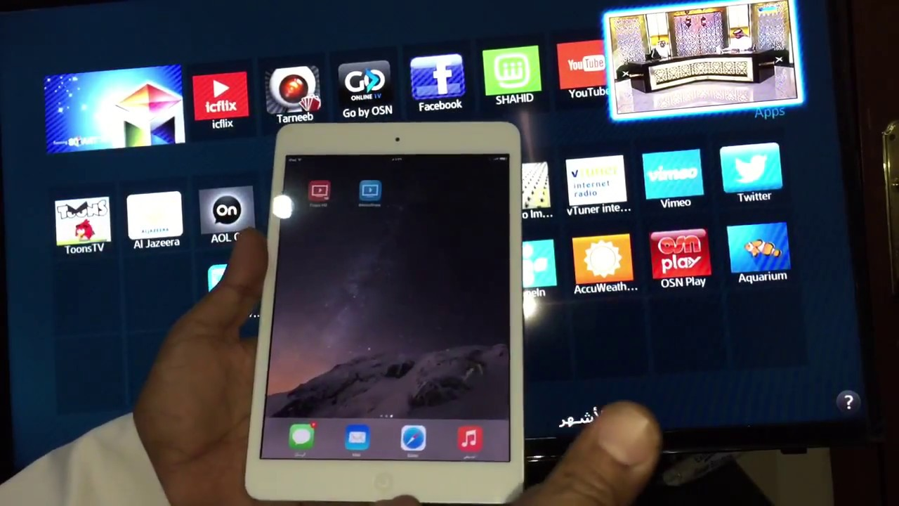 how to connect iphone to toshiba smart tv