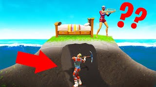 Playing BED WARS In FORTNITE! (Minigame)