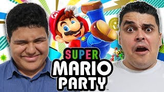 Festa no Switch com Super Mario Party feat. Mineboy