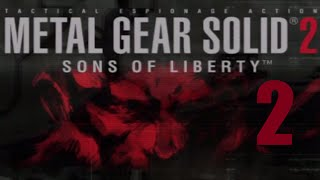 PS2 Longplay - Metal Gear Solid 2: Sons of Liberty (Part 2 of 8)