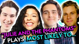 The Cast of Netflix's #JulieAndThePhantoms Plays Most Likely To...