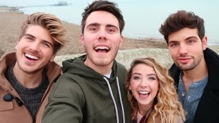 Repeat youtube video BRITISH VS AMERICAN YOUTUBERS