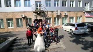 Свадебный клип (подарок от друзей)
