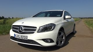 2015 Mercedes A180 (122 HP) Test Drive