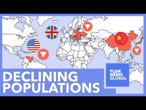 Which Countries Have Declining Populations & What Can They Do About It? - TLDR News