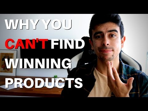 Why You Can't Find Winning Products... (Solution)| Shopify Dropshipping thumbnail