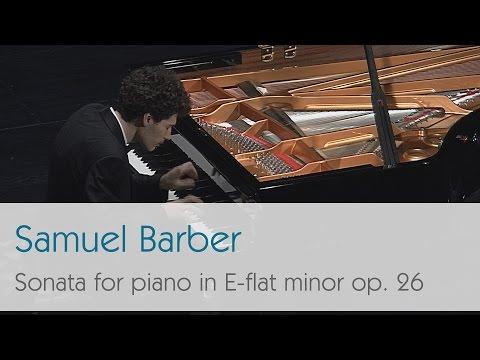 Samuel Barber - Sonata for piano in E-flat minor, Op. 26 - Roman Martynov