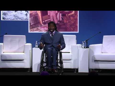 Global Vaccine Summit: Ade Adepitan, British Paralympic Champion and Broadcaster