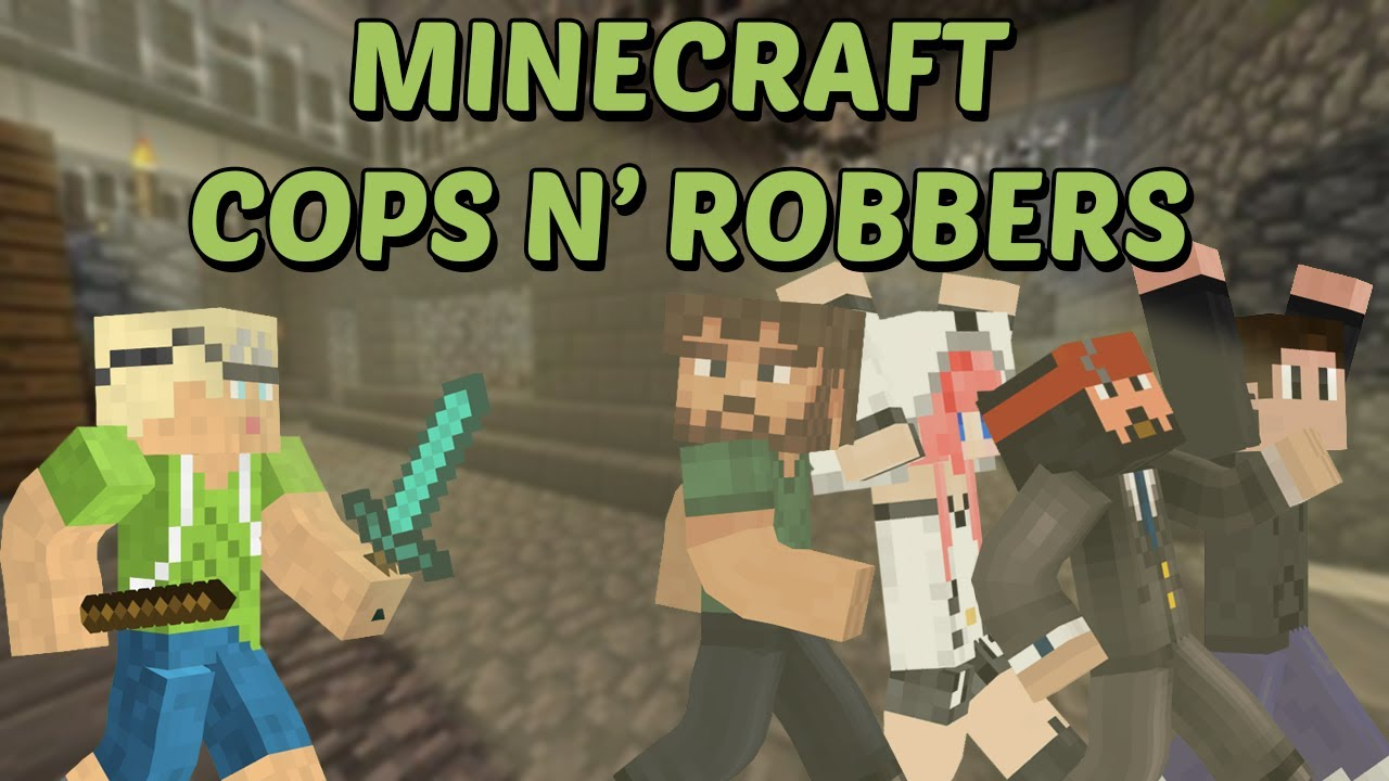 Minecraft - Cops N' Robbers! w/ InTheLittleWood