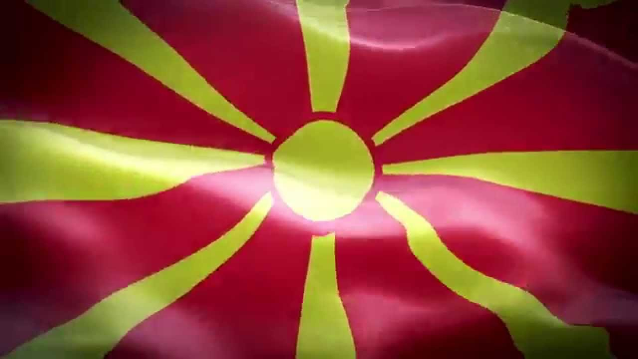 фото флаг македонии