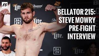 Bellator 215: Steve Mowry pre-fight interview