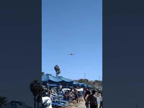 PZL M18 Dromader (HAF) Landing at Kefalonia airport after firefighting mission 1