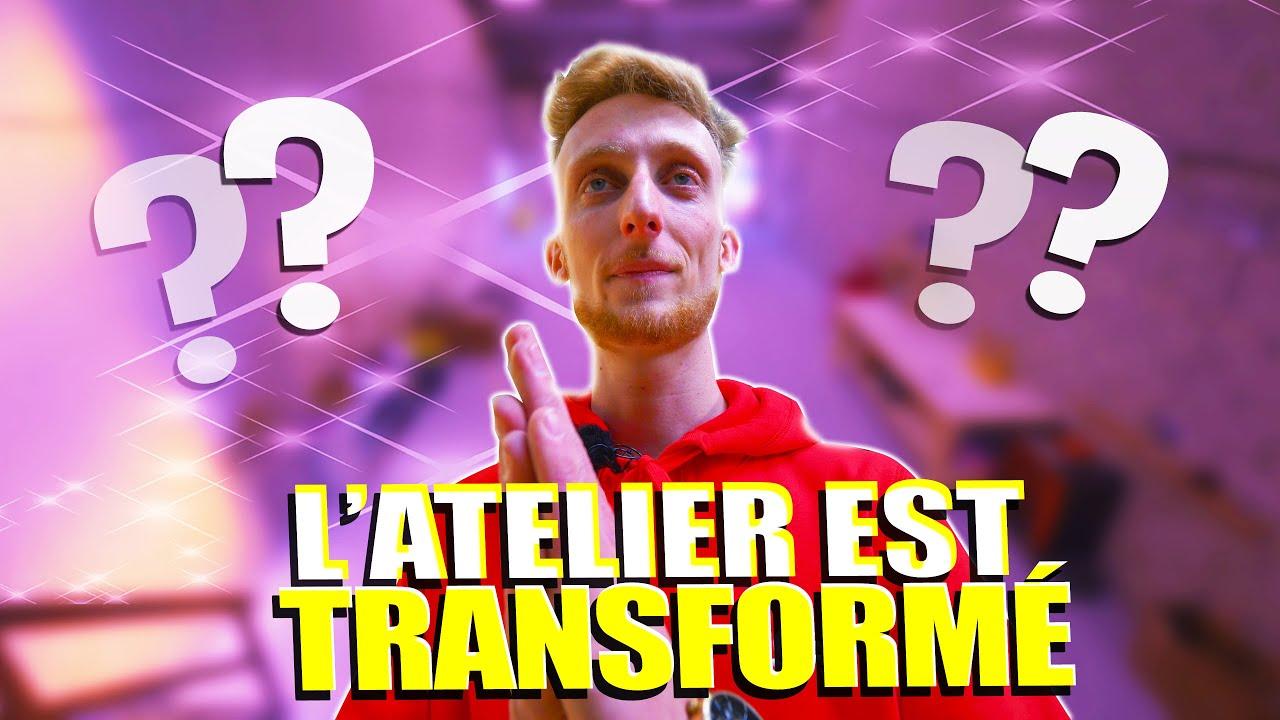 L'ATELIER EST FINI !! 🛵