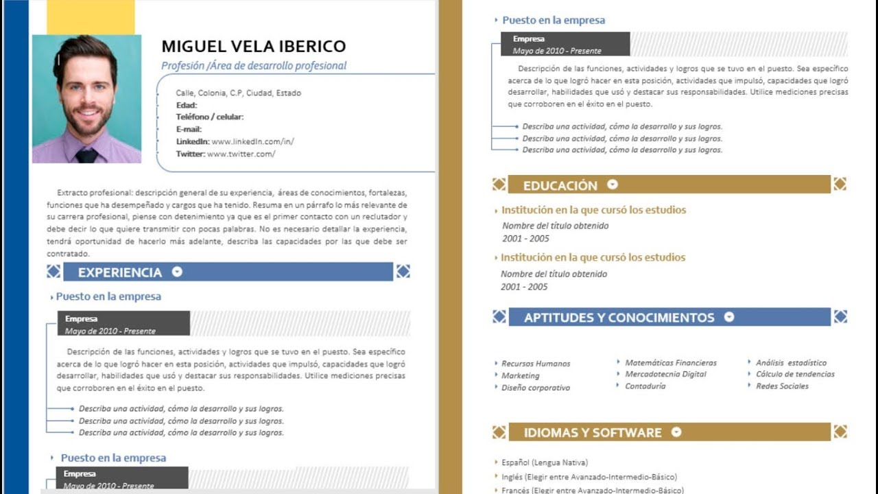 maxresdefault Que Es Un Curriculum Vitae Y Ejemplo on
