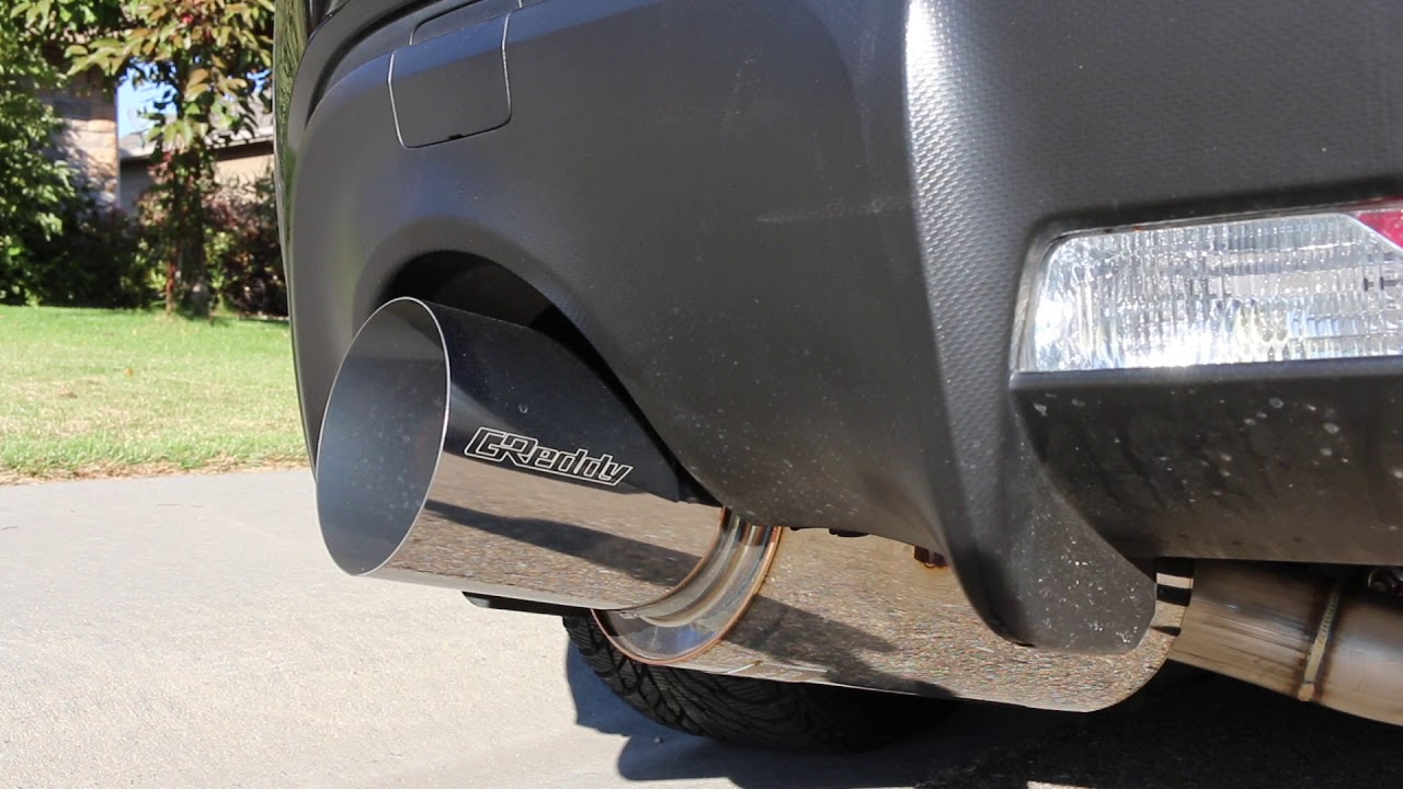greddy revolution rs 3 single exit exhaust 2013 fr s brz 86