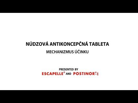 Núdzová antikoncepcia ESCAPELLE® a POSTINOR®-1 : ako funguje tabletka po?