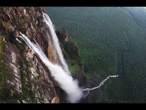 Водопад - Анхель, загадка физических законов.Там могут быть алмазы?