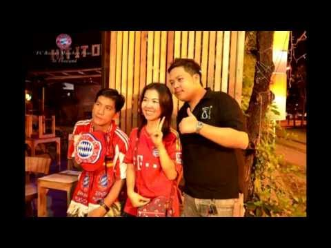 Final UEFA Champions League 2013 Borussia Dortmund - Bayern Munchen (Thailand cheer) HD