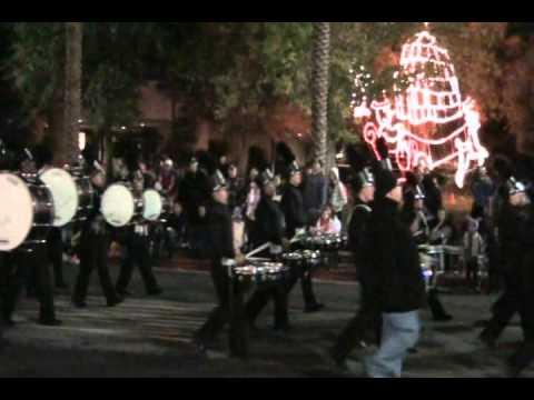 2012 City of Henderson Christmas Parade - High School Bands Featured - Coronado High School