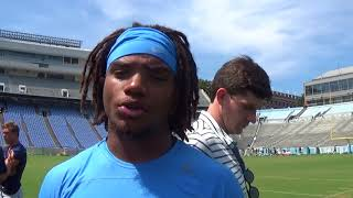 UNC Fall Camp ARW Interview 8 9