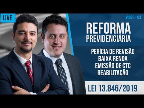 Pente Fino 2019 e Reforma da Previdência - MP 871/19 e Lei 13.846/19 - Parte 03