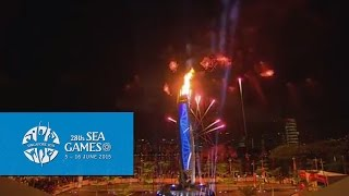 Torch Relay   28th SEA Games Singapore 2015