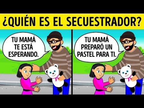 Todo niño debería aprender una frase clave para evitar ser secuestrado