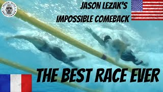 Lezak, Bousquet talk about the 4x100 Free Relay from Beijing Olympics